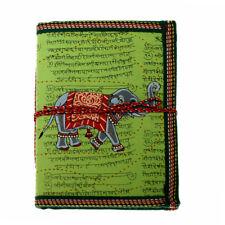 Elephant Fair Trade Notebook 18.5x13cm, green