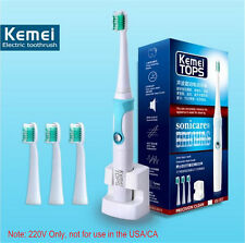 Rechargeable Electric Toothbrush Ultrasonic Sonic White Teeth Brush Oral Hygiene