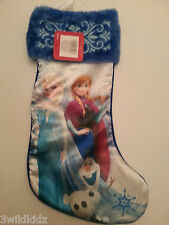 Frozen Christmas Stocking Elsa,Anna and Olaf New - Holiday Gift