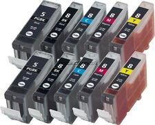 10PK PGI-5 CLI-8 BCMY Ink Set for Canon PIXMA iP4200 iP4300 iP4500 iP5200 iP5200