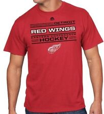 Men's Majestic Nhl Detroit Red Wings Fore-Check Tee *New*Free Shipping*