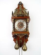 Zaanse REPAIR Dutch Wall Clock Vintage Antique (Warmink Hermle WUBA Era)