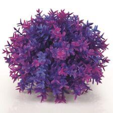 biOrb Aquarium Dekoration Deko-Pflanze künstlicher Blumenball lila