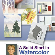 NEW DVD: A SOLID START IN WATERCOLOR: With Lynn Powers