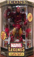 "TOYBIZ 2006 -12"" MARVEL LEGENDS ICON - IRONMAN ( GOLD ARMOR VER. ) - SUPER RARE"