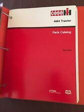 CASE MODEL 4694 TRACTOR PARTS CATALOG  MANUAL