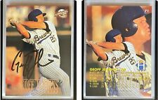 Geoff Jenkins Signed 1996 Excel #71 Card Helena Brewers Auto Autograph