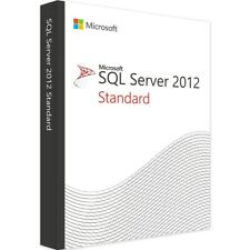 SQL Server 2012 Standard Product Key License MS 16 CPU Core Unlimited CALS