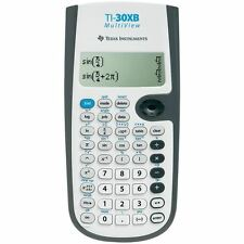Texas instruments TI30XB scientifique école calculatrice + multi-line display new