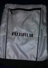 Fujifilm Advertising Heavy Duty Mesh Drawstring Sports Bag 14 in wide x 17 in