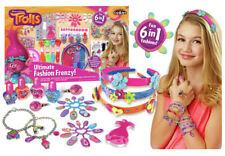 DreamWorks Trolls 6 in 1 Ultimate Fashion Frenzy Girls Jewellery Set - Cra-Z-Art
