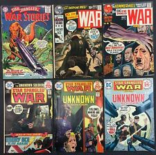 Star Spangled War Stories (Lot of 6) Vintage 1965-75