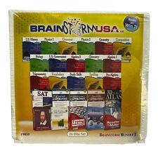 RARE Brainstorm USA 19859 26 Disc Set Windows Bundle J 404846 2012 NIP Sealed