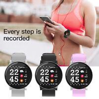 W8 Smart Watch Blood Pressure Heart Rate Monitor Sport Fitness Tracker Wristband