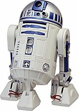 STAR WARS R2-D2 voice action Alarm Clock Blue Free Ship w/Tracking# New Japan