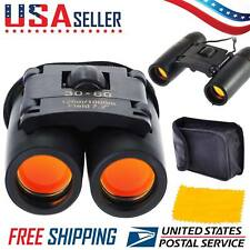 MINI Day Night Vision Binoculars 30x60 Zoom Outdoor Travel Folding Telescope US
