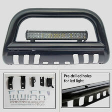 04-17 F-150/03-17 Expedition Bull Bar Grille Guard Brush Push Guard with Light