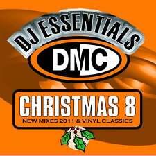 DMC DJ Essentials Christmas Vol 8 Vinyl Classics Mixes, Remixes & Two Tracker CD