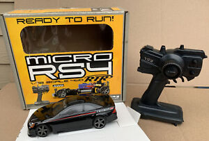 HPI MICRO 1/18 RS4 RC RTR HONDA CIVIC COUPE BODY FACTORY PERFORMANCE EDITION