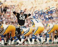 Jack Lambert Autographed Signed 8x10 Photo ( HOF Steelers ) REPRINT