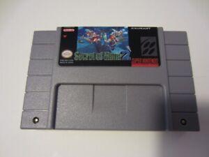 Secret of Mana 2 (English) SNES Super Nintendo Seiken Densetsu 3 RPG game cart