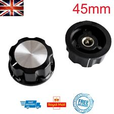 Large 45mm Potentiometer Knob Volume Amp Dial 6mm Hole for Shaft Radio Tuner DIY
