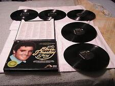 Elvis Presley Limited Edition  5LP Boxset-THE ELVIS PRESLEY STORY