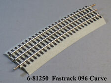"LIONEL FASTRACK 096 EXTRA WIDE CURVE TRAIN TRACK fasttrack 96"" roadbed 6-81250"