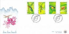 """H. K. 2000, """"HONG KONG INSECTS"""" STAMP SET ON CHINA PHILATELIC ASSOCIATION FDC"""