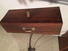 Handmade Cassette Tape Audio Wooden Storage Unit Case