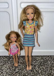 Barbie Skipper Chelsea doll Lot - Strawberry Blond Hair babysitters club Sisters