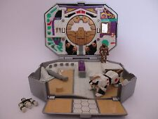 POWER RANGERS MIGHTY MORPHIN - WHITE RANGER MICRO MORPHIN PLAYSET - BANDAI 1995