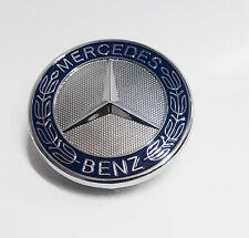 Mercedes Benz Standing Star Conversion to Flat Mount Hood 57mm Emblem OEM