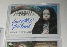 Jodelle Ferland Stargate Atlantis Autograph Card