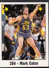 Panini NBA Baloncesto 1989 Etiqueta-no 284-Mark Eaton