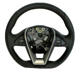 OEM 2016-2019 Nissan Maxima Black Leather Steering Wheel 48430-4RD1A