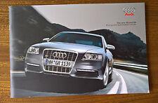 Audi A6 Saloon & Avant brochure - 2007 Model Year  Issued 09/06