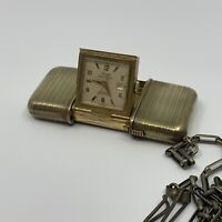 STOWA Gold Plated Antique Pocket Watch. It has been tested!!