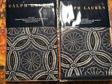 NIP Ralph Lauren Artisan Loft Moore King Pillow Shams Pair