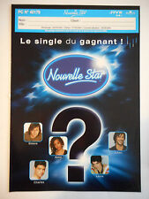 ▓ PLAN MEDIA ▓ NOUVELLE STAR : LE SINGLE DU GAGNANT ( PC N° 40179 )