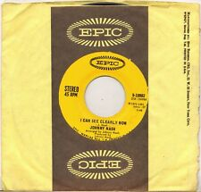 "JOHNNY NASH ""I CAN SEE CLEARLY NOW"" REGGAE 70'S SP EPIC 5-10902"