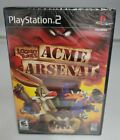 Looney Tunes Acme Arsenal (PlayStation 2) New Sealed -See All Pics-