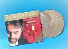 [CD+DVD] ANDREA BOCELLI : Sacred Arias [Special Edition] by Andrea Bocelli
