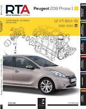 Revue technique Peugeot 208 PHASE 1 (2012-2014) - RTA 830