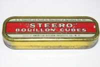 Vintage Steero Bouillon Cube Tin N.Y.