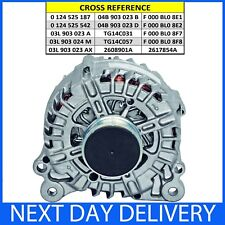 Audi Seat Skoda VW 1.4 1.6 2.0 TDi Diesel Stop-Start Models 2010-2017 ALTERNATOR