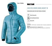 NEW Dynafit Cho Oyu Down Insulator Blue Womens M Winter Ski Jacket 2016 Ret$320
