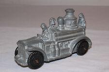 M & L Toys, Large Slush Cast Metal Fire Truck,  Nice Original