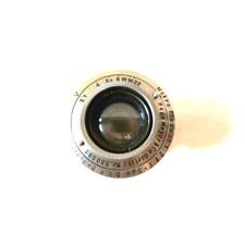 Ultra rare Macro Plasmat 5cm/2.7 for Contax 1 RF
