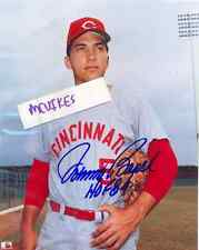Johnny Bench Cincinnati Reds HOF 89 Autographed Signed 8x10 Photo ROY COA